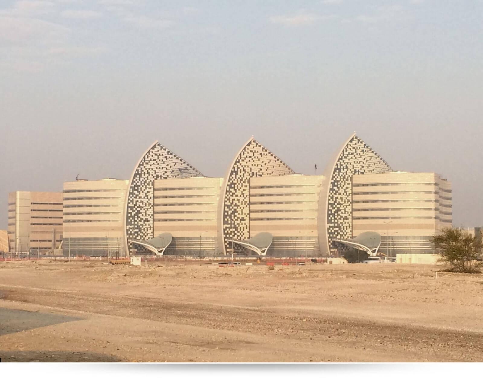 Fiber Optic Network Qatar Sidra Medical and Research Center